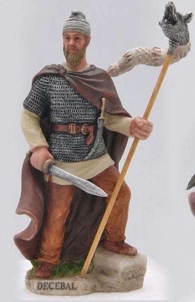 Statuetă Decebal din rășină