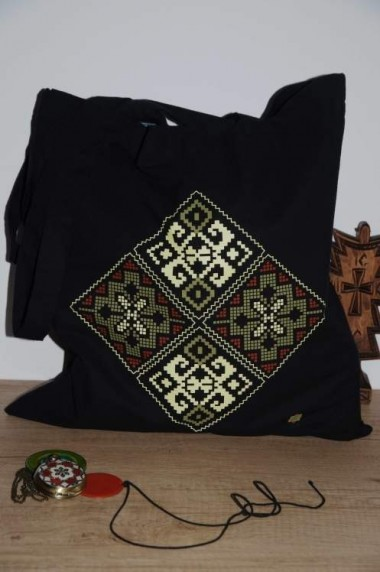 Traistă Bucovina – negru