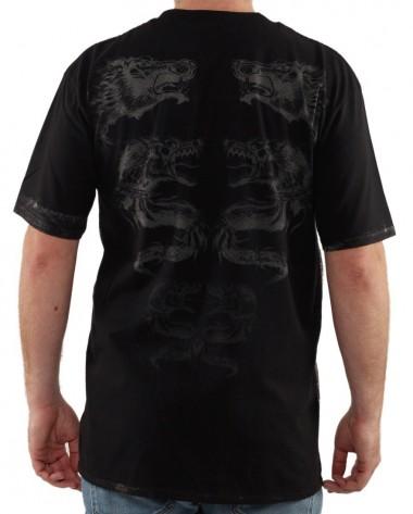 Tricou Războinic Dac, negru