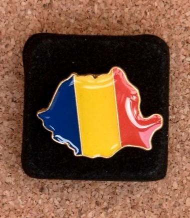 Insignă Harta României