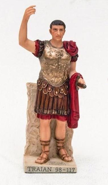 Statuetă Traian din rășină