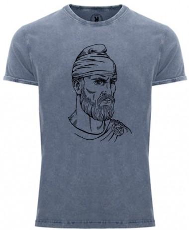 Tricou DECEBAL, Bleu -...