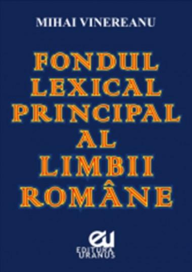 Fondul lexical principal al...