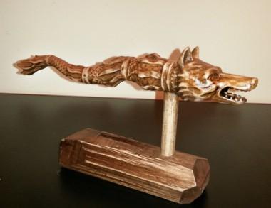 Sculptură în lemn Draconul...